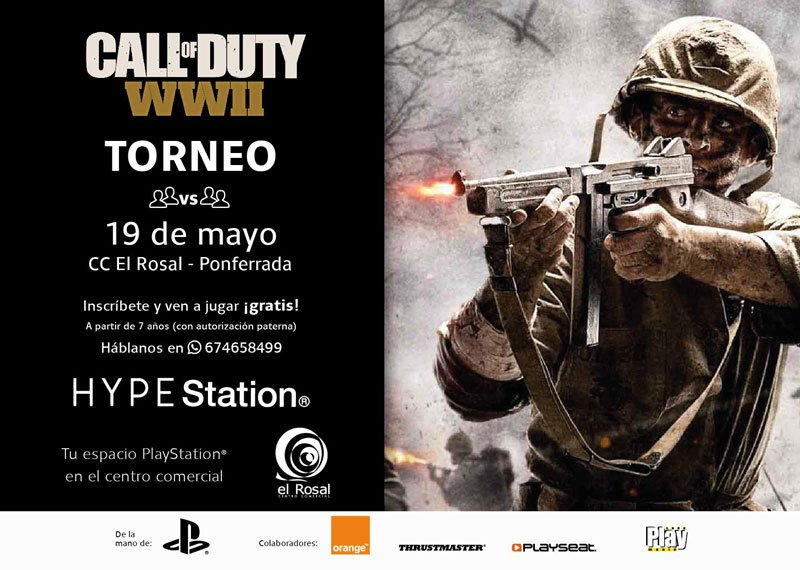 COD Challenge 2vs2 en HYPE Station®