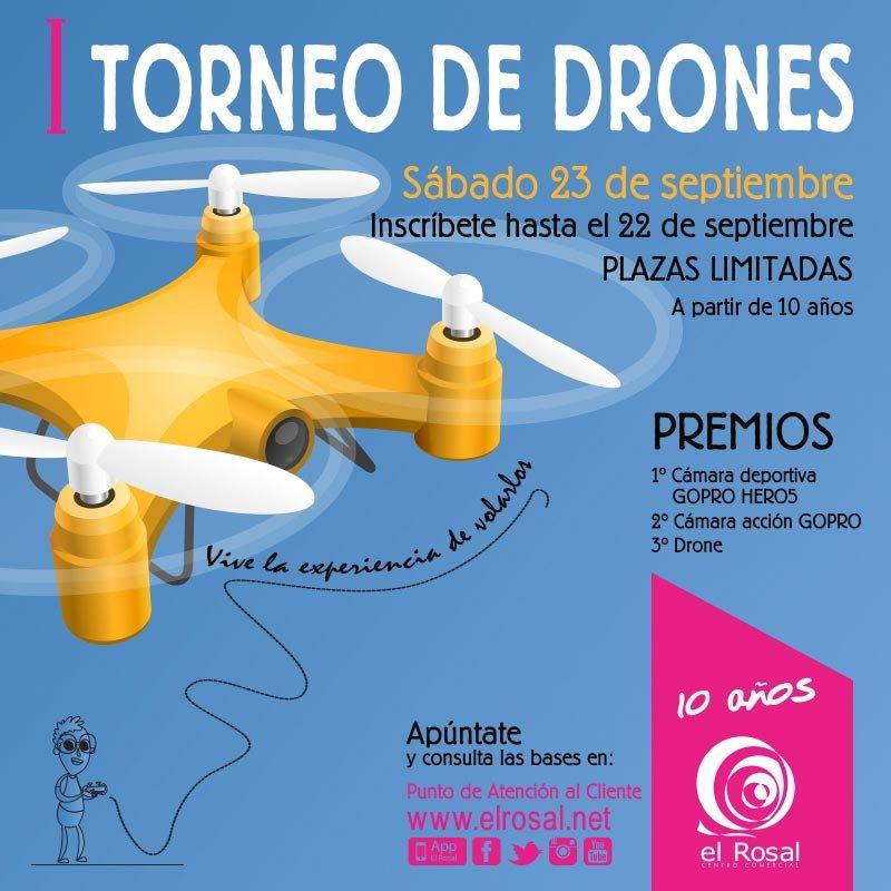 I Torneo de drones El Rosal