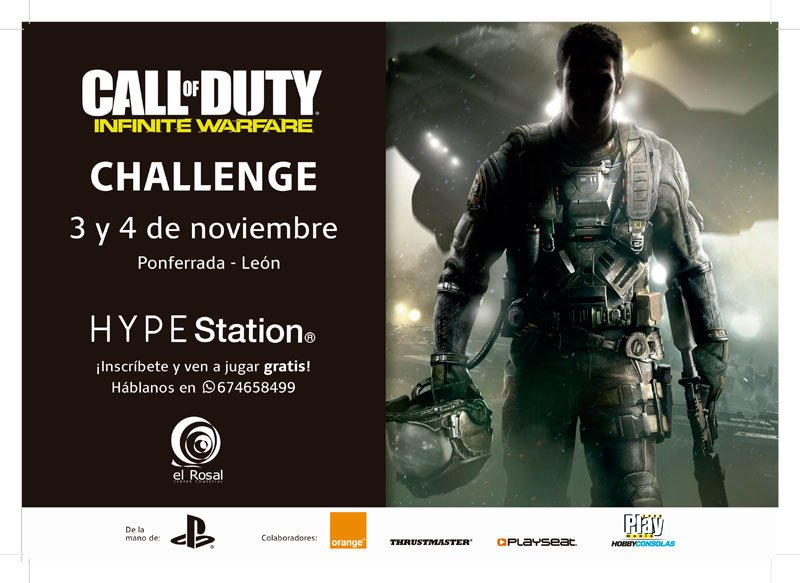 COD: Infinite Warfare Challenge 2vs2 en HYPE Station®