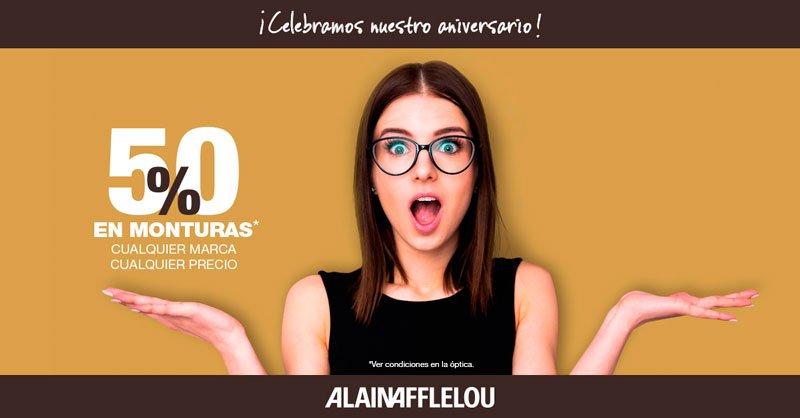 Celebramos nuestro 10º aniversario en Alain Afflelou
