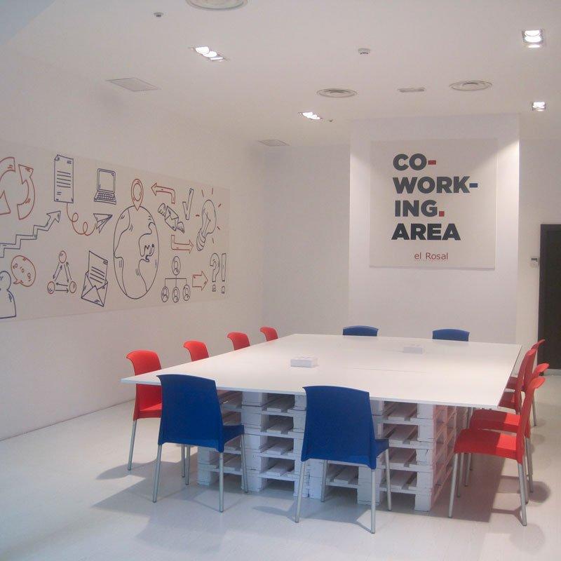 Zona Co-Work-ing área