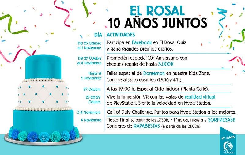 EL ROSAL, 10 AÑOS JUNTOS