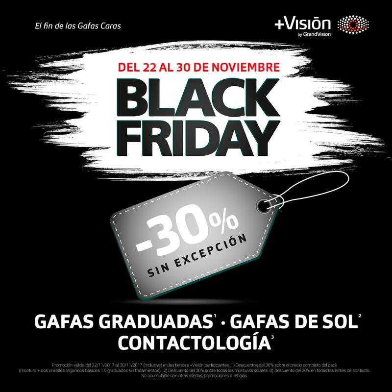 Black Friday en +Vision