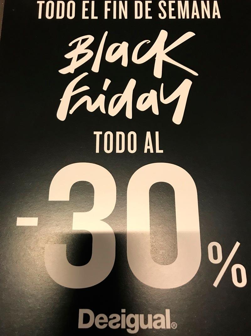 Black Friday en Desigual