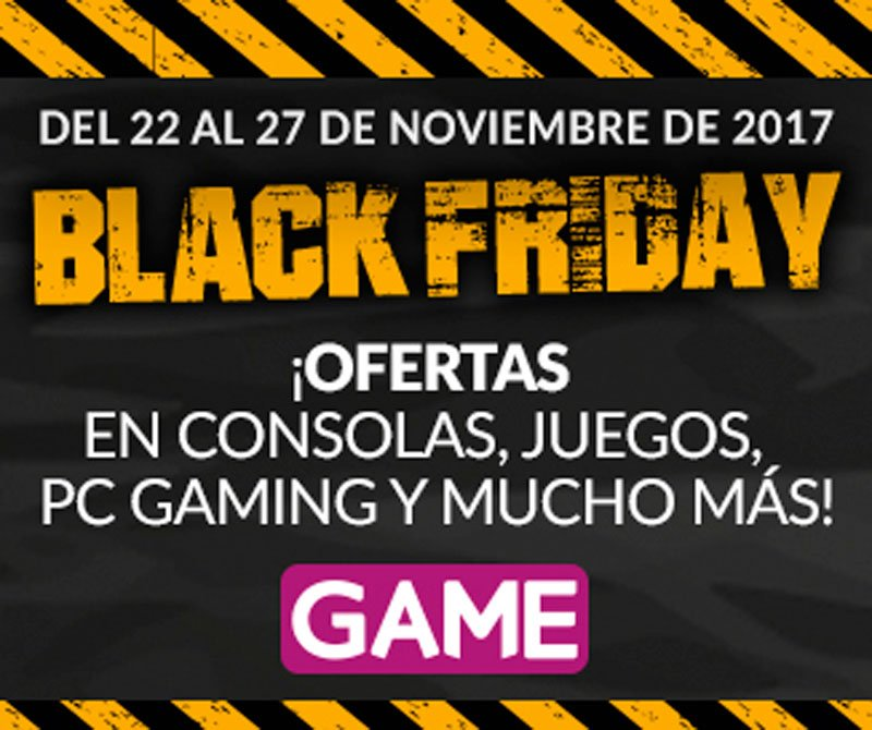 Black Friday en GAME