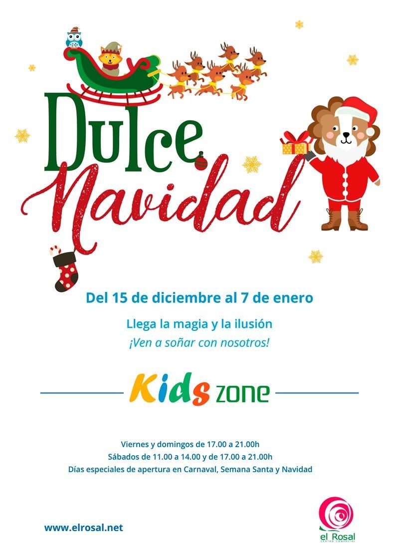Dulce Navidad en la KIDS ZONE