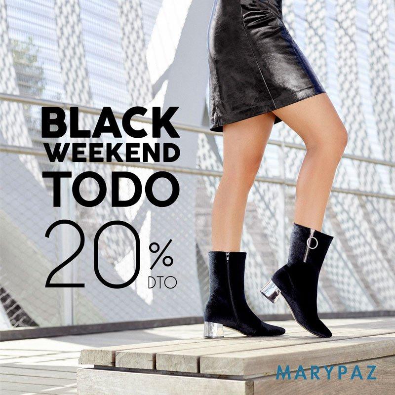 ¡BLACK WEEKEND DE MARYPAZ!