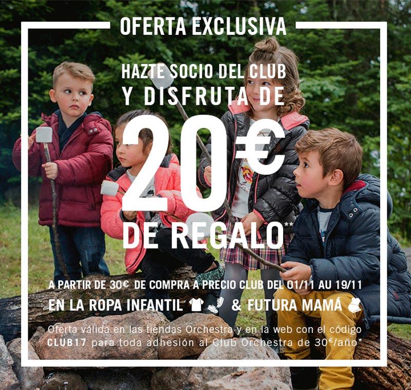 HAZTE SOCIO O RENUEVA TU TARJETA Y DISFRUTA DE 20 € DE REGALO.
