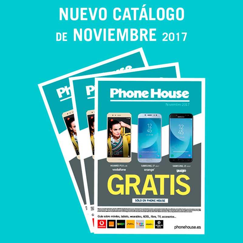 Nuevo catálogo de noviembre en The Phone House