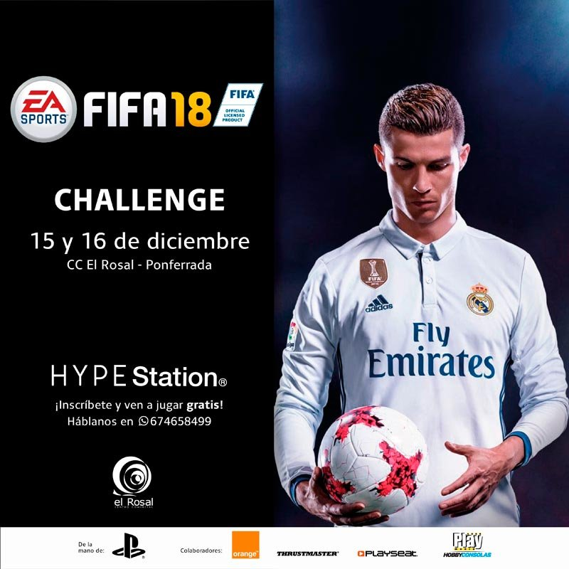 Gana una PS4 – HYPE Station con FIFA 18