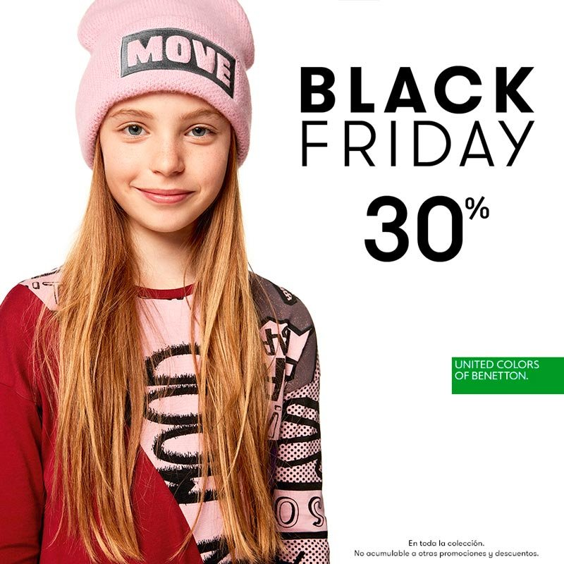 United Colors of Benetton Black Friday