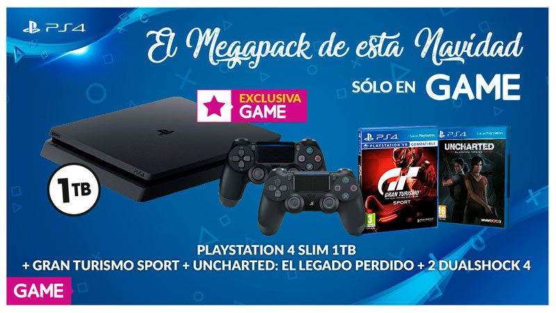 LLEGA EL MEGAPACK DE PLAYSTATION 4, EXCLUSIVO DE GAME