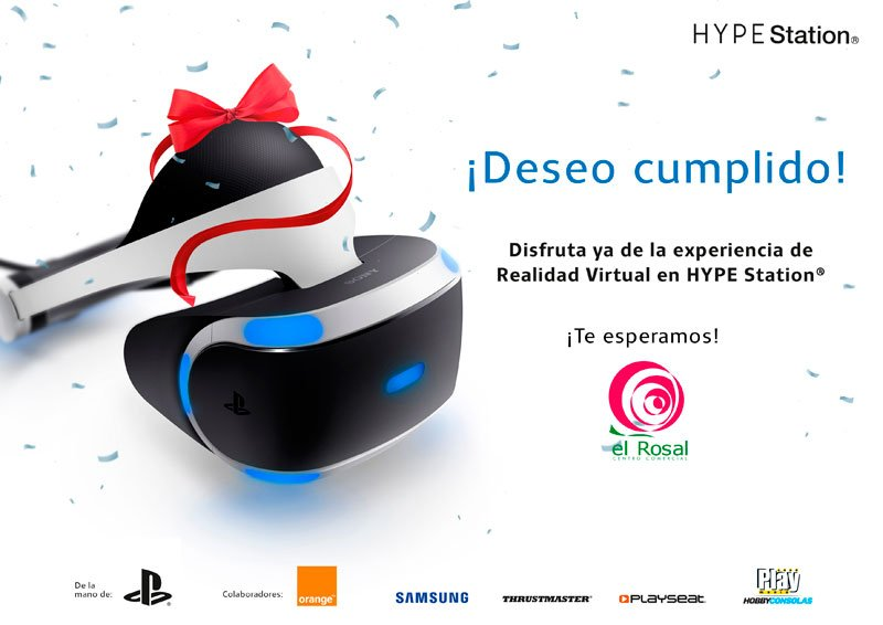 Realidad Virtual en HYPE STATION