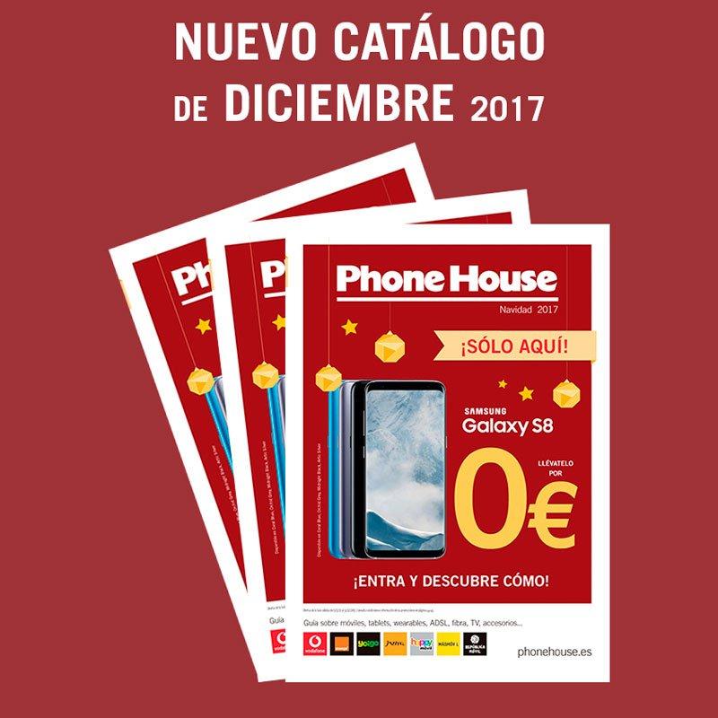 Nuevo catálogo Phone House de Diciembre 2017