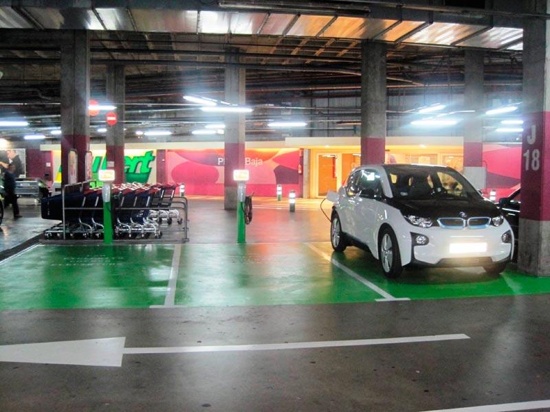 Cargadores de coches eléctricos