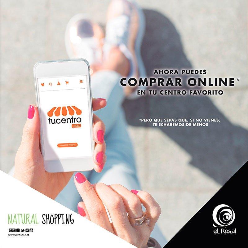 Ahora puedes comprar online en tu centro favorito