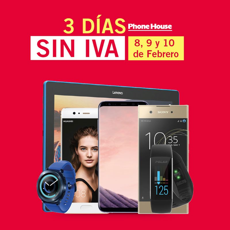 3 Días Sin IVA en The Phone House