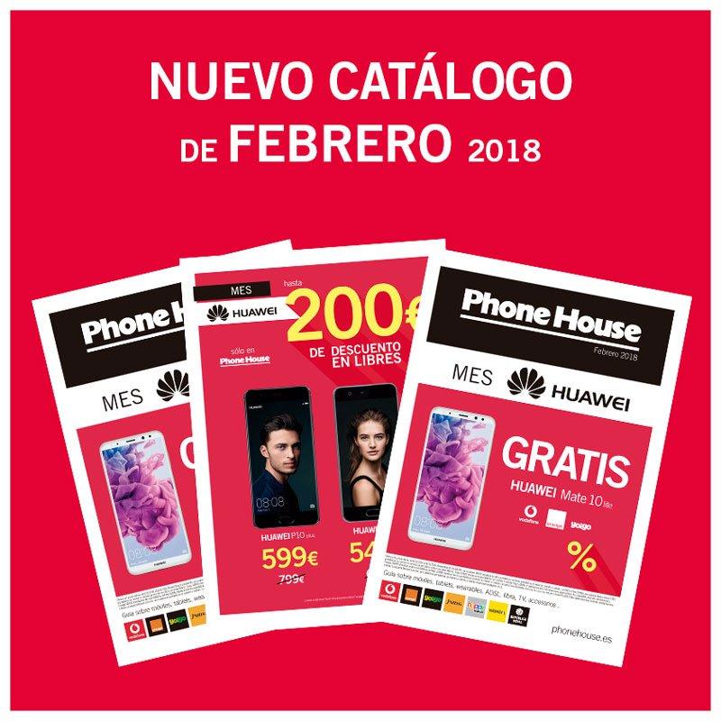 Catálogo febrero Phone House
