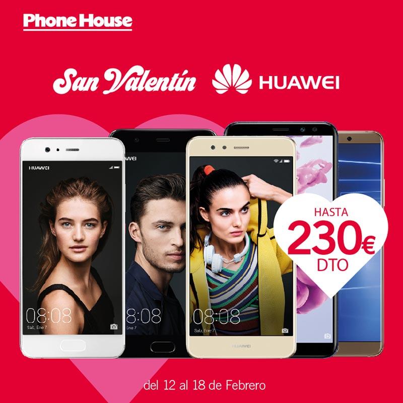 Semana Huawei especial San Valentín