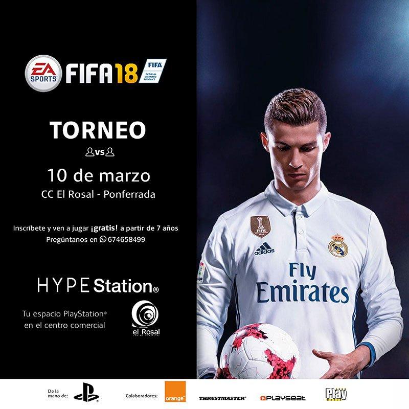 Fifa18 Challenge – HYPE Station El Rosal