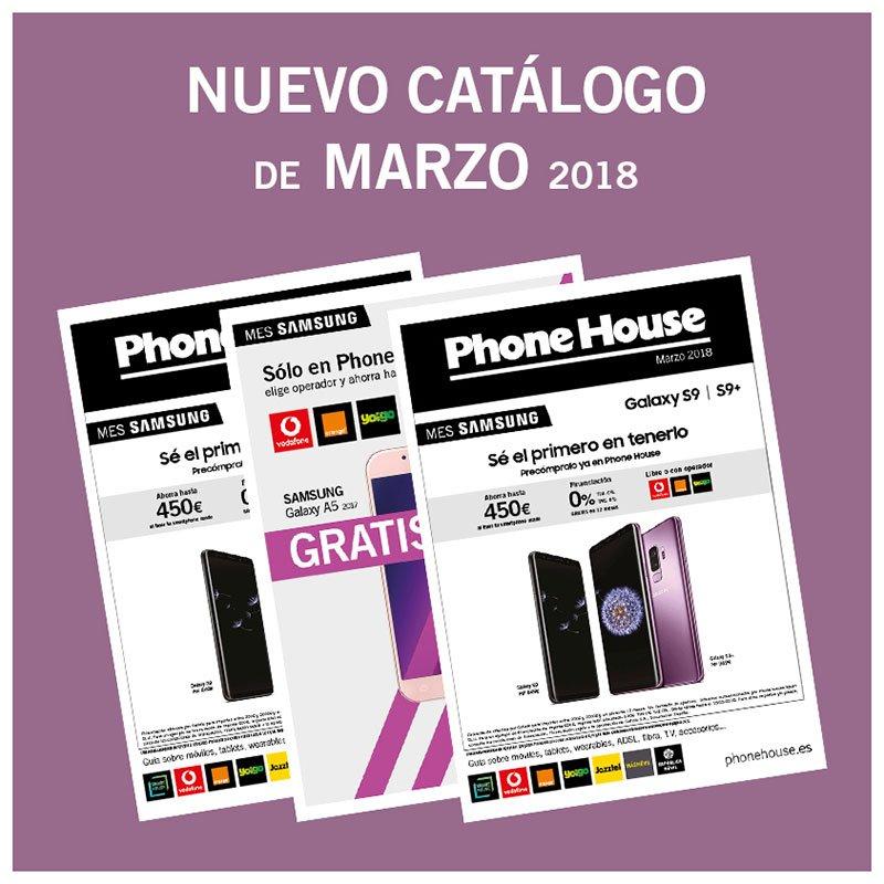 Catálogo de marzo: ¡nuestro mes Samsung!