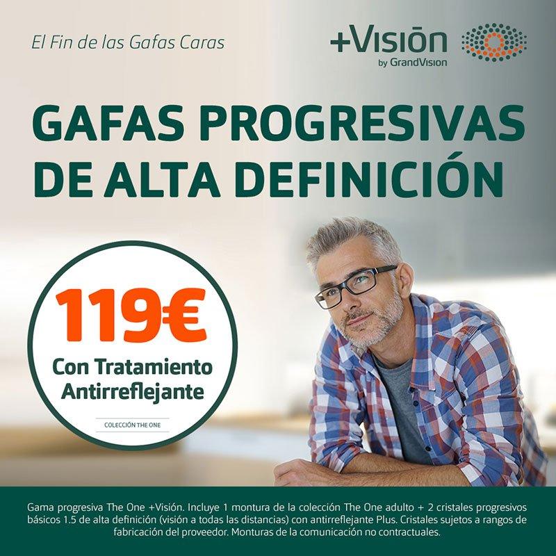 Progresivos 119 € en +Visión