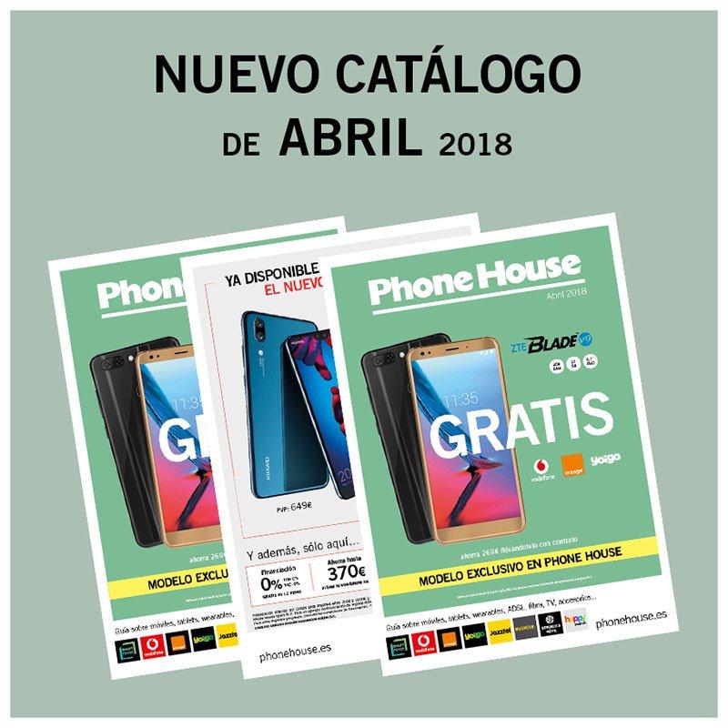 ¡Ya disponible el catálogo de abril de Phone House!