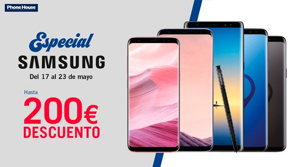 Especial Samsung en The Phone House