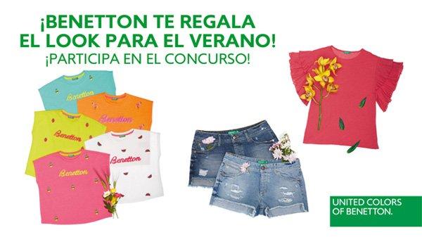 ¡Benetton te regala un look para el verano!