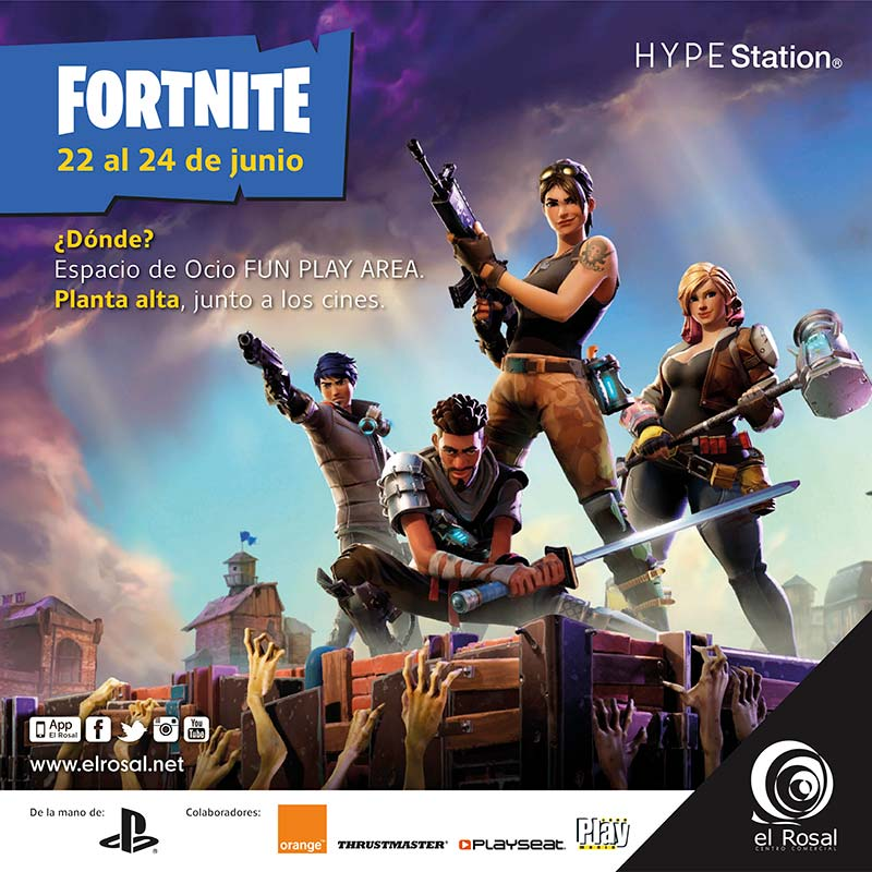FORTNITE en HYPE Station