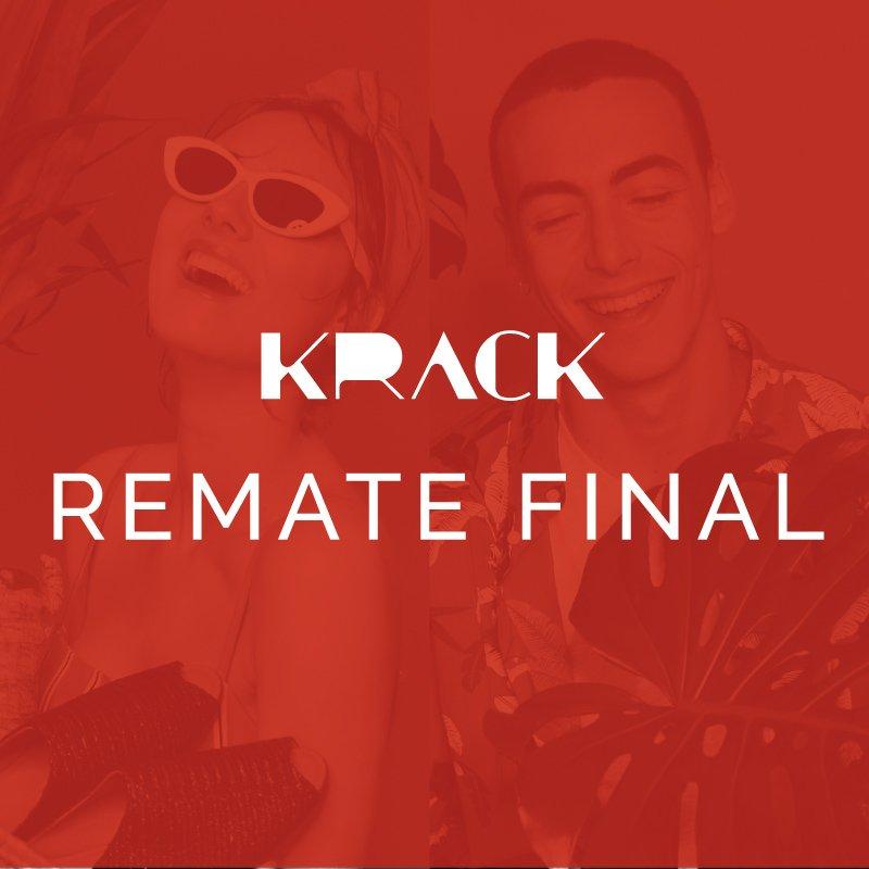 REMATE FINAL- Rebajas en Krack