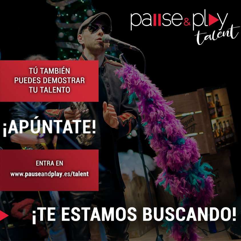 Concurso Pause & Play Talent