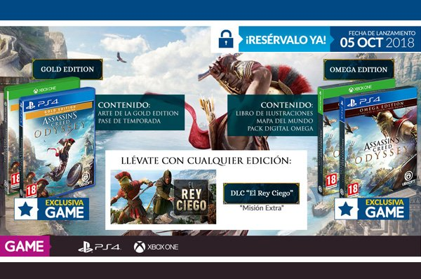 Assassin's Creed Odyssey en GAME