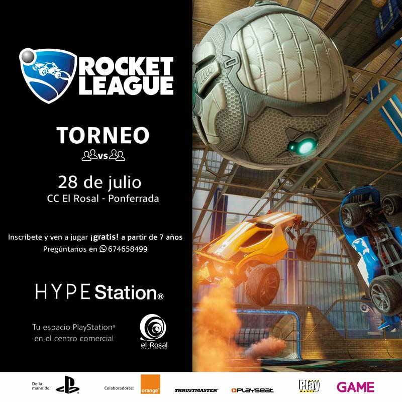 TORNEO ROCKET LEAGUE