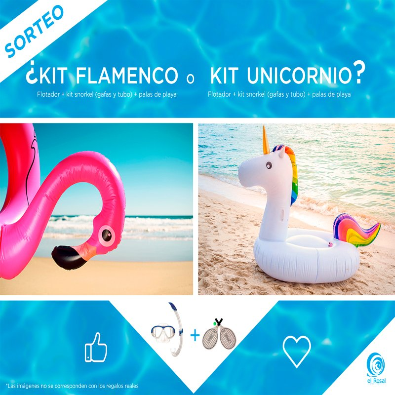 ¡SORTEO¡ FLAMENCO O UNICORNIO, TÚ ELIGES