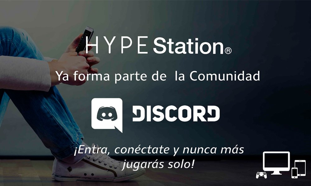 Hype Station – Discord