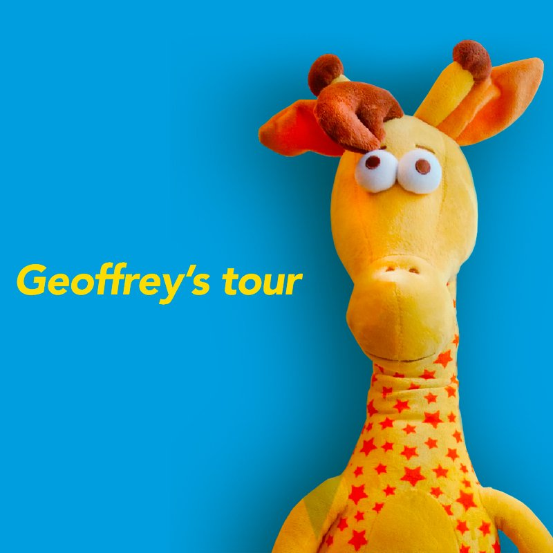 ¡Ven a conocer a Geoffrey!
