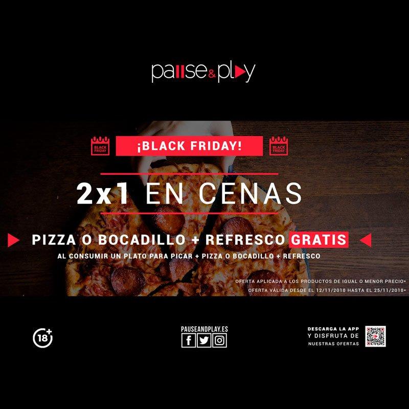 Oferta Black Friday Pause&Play