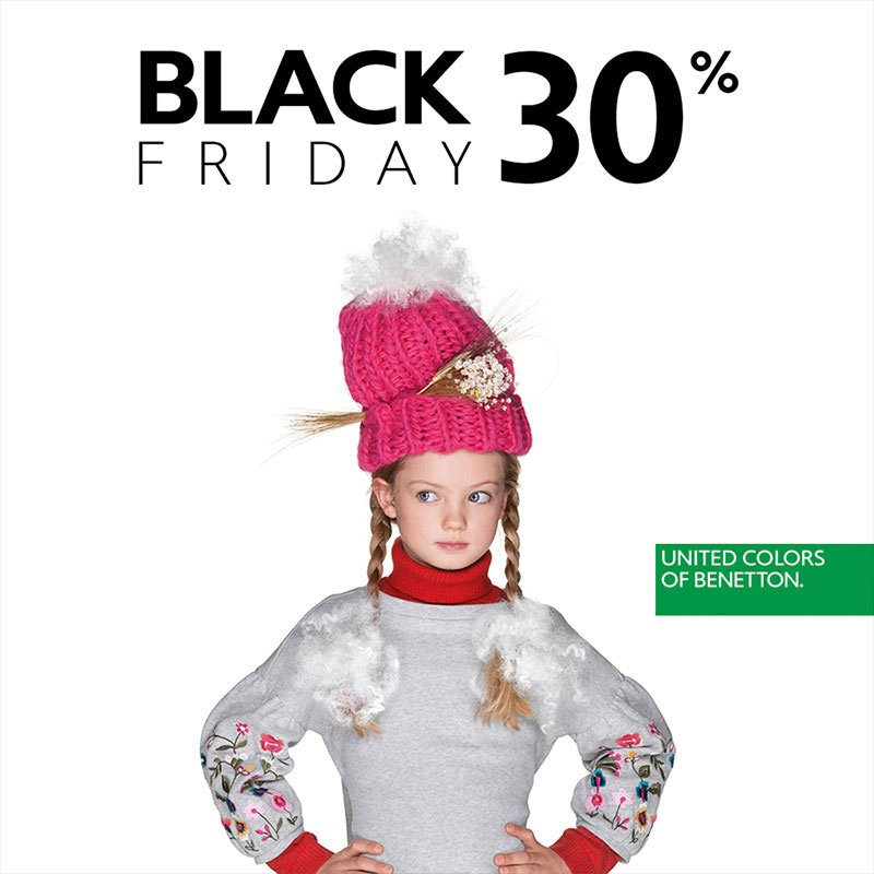 Benetton Black Friday