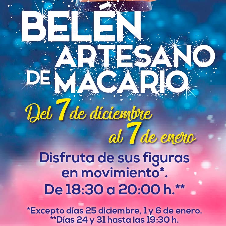 BELÉN ARTESANO DE MACARIO