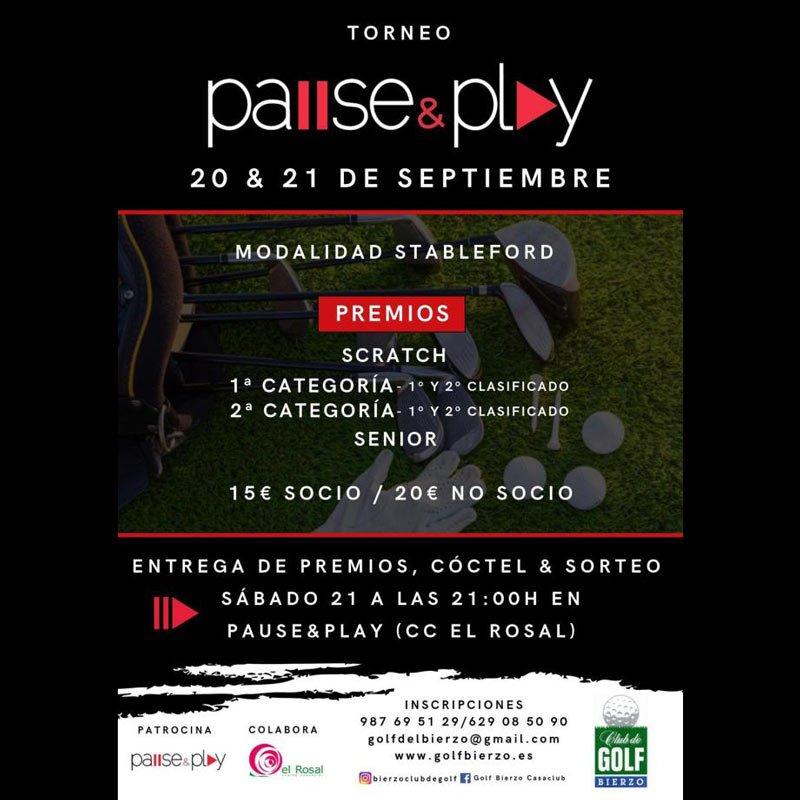 Promociones Pause & Play El Rosal