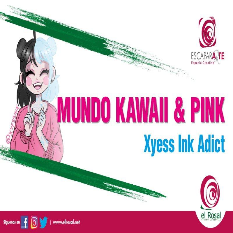 """Mundo Kawaii & Pink"" de Yyess Ink Adict"